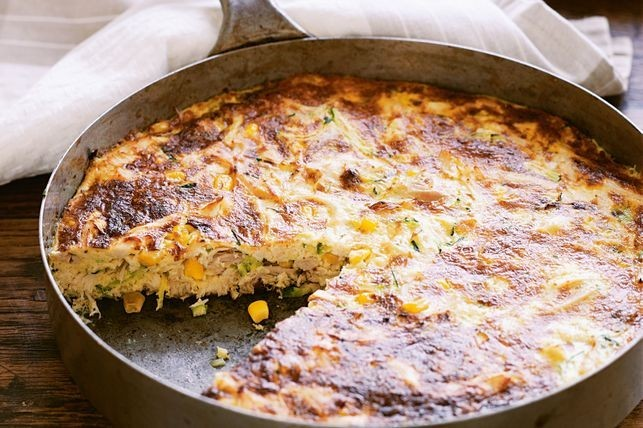 Fab Food Month Week 4 – Taste test chicken and leek frittata
